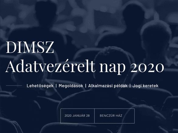 DIMSZ Adatvezérelt nap 2020